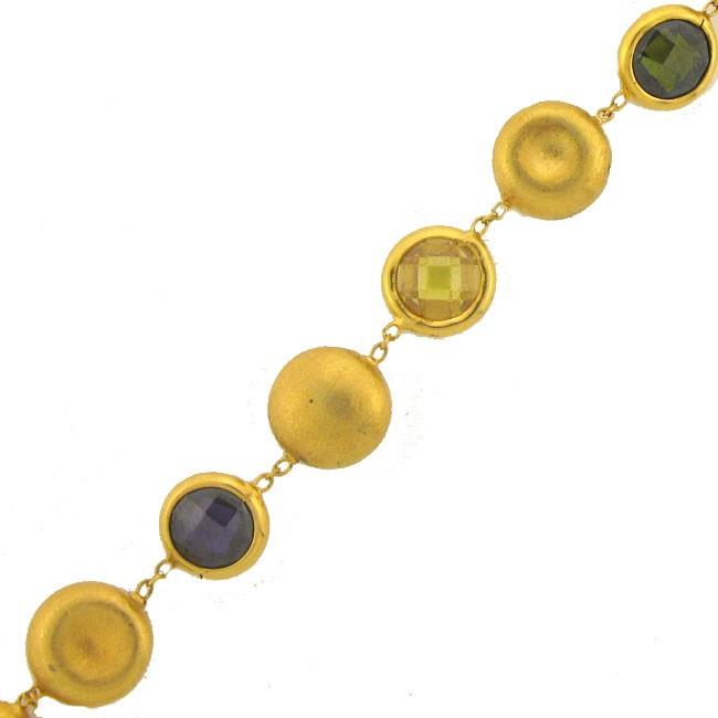 Fancy Semi-Precious Bracelet