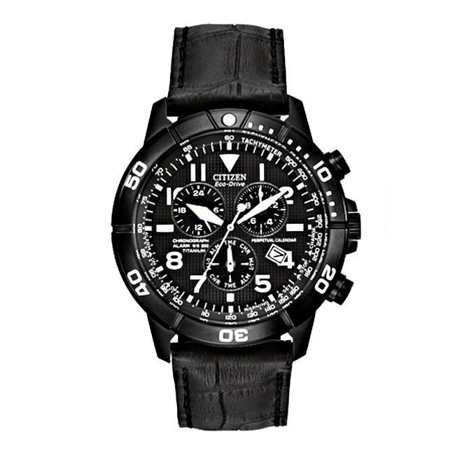 Mens Citizen Perpetual Calendar Chronograph Watch