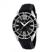 Festina Unisex Black Rubber Quartz Watch with Black Dial