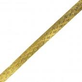 Gold Flexible Bangle Bracelet