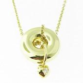 Diamond & Gold Necklace