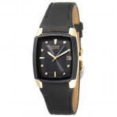 Citizen Mens Black and Gold Tone Eco-Drive Watch