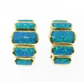 Gilson Opal Earrings