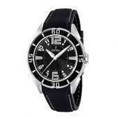 Festina Unisex Black Rubber Quartz Watch with Black Dial