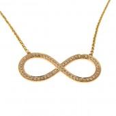 Diamond Infinity Pendant