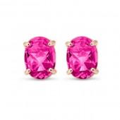Pink Topaz Earring